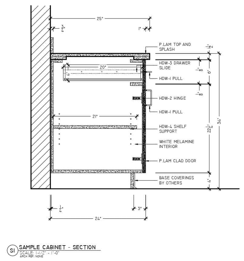 Superior Shop Drawings - Millwork Drafting Standards - Leaders