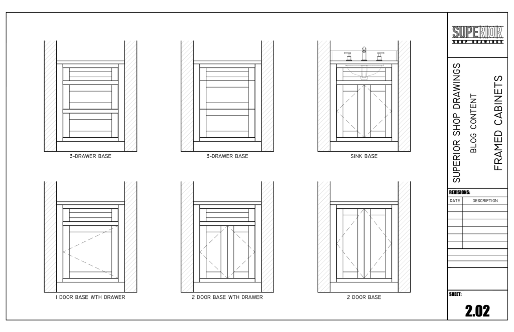 Framed Cabinets - Elevation
