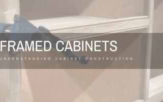 Framed Cabinets - Header