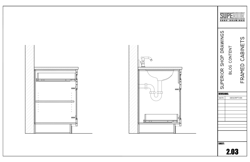 Framed Cabinets - Section