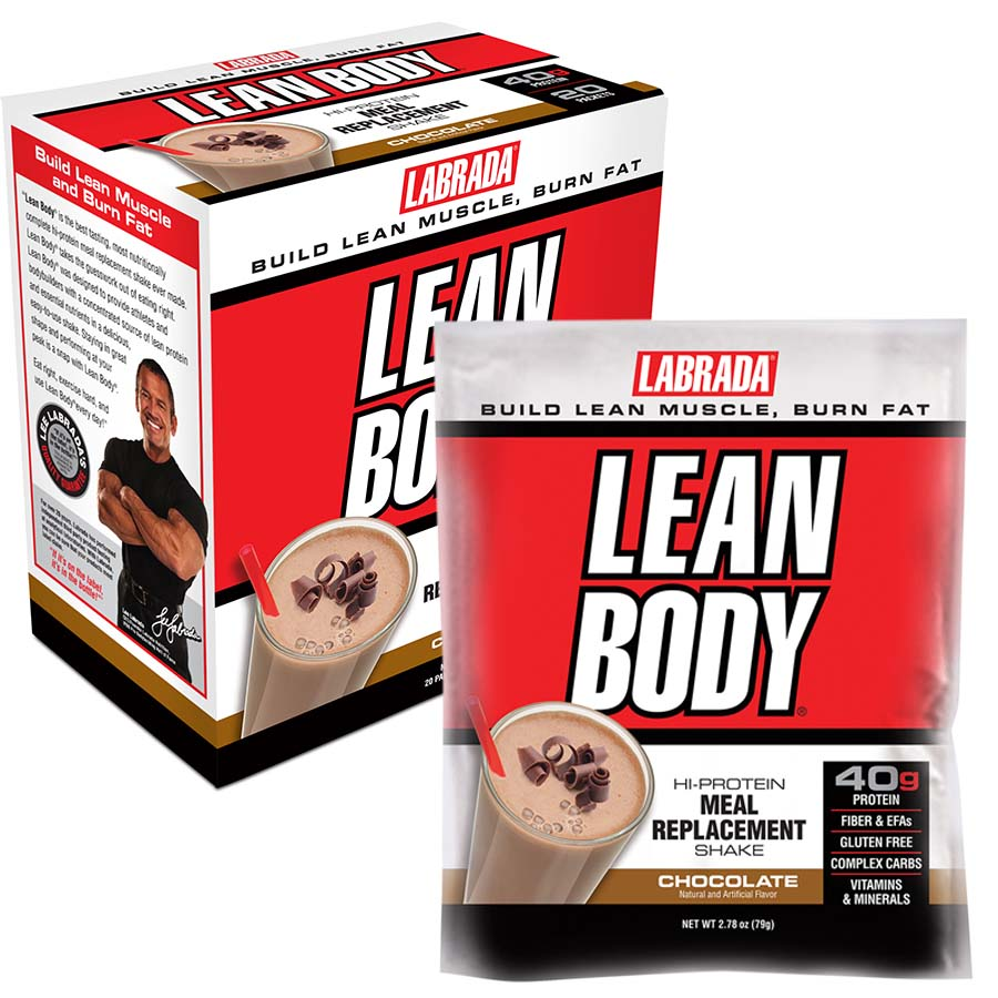 Labrada Lean Body Meal Replacement (20 serve) 20x 79g