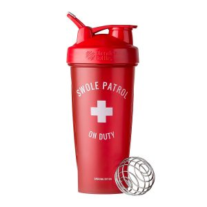 Blender Bottle Classic Special Edition 'Just For Fun' (825ml) Swole Patrol On Duty