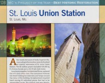 Best Historic Restoration, Masonry Construction's Project of the Year