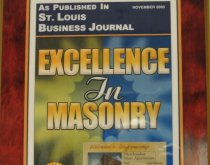 St. Louis Business Journal Excellence in Masonry 2003
