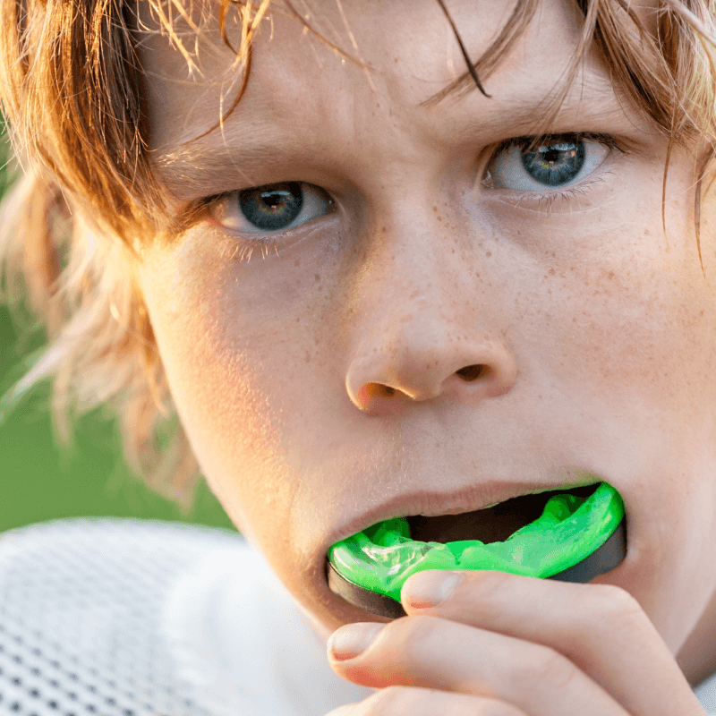 mouthguards protect teeth