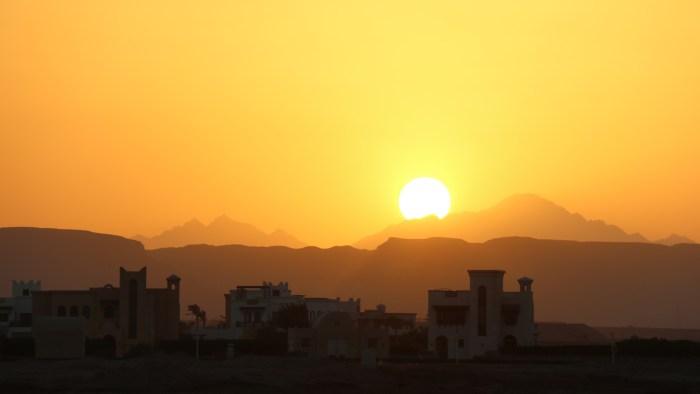 egyot sun set
