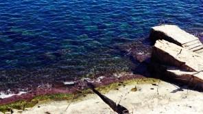 Wasser in der Nähe des Kais von Valetta
