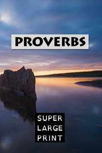 KJV: Psalms: Book 1 - Super Large Print