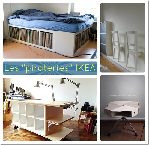 pirateries IKEA