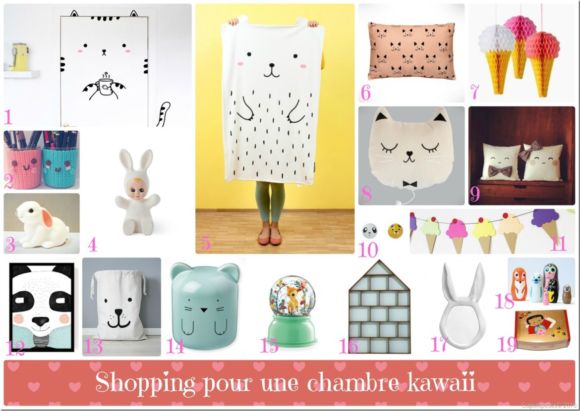 shopping kawaii