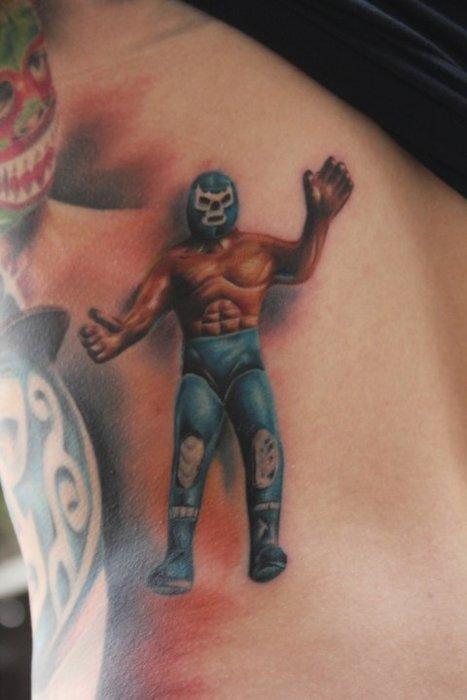 Verdadero fan de la lucha libre mexicana
