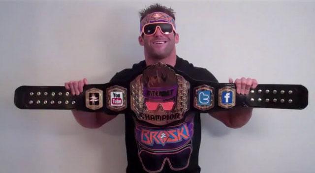 "Zack Ryder, ""WWE Internet Champion"""