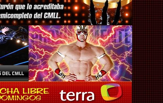 La nueva figura del CMLL / Captura de pantalla por Dement X-treMEX 187 - cmll.com