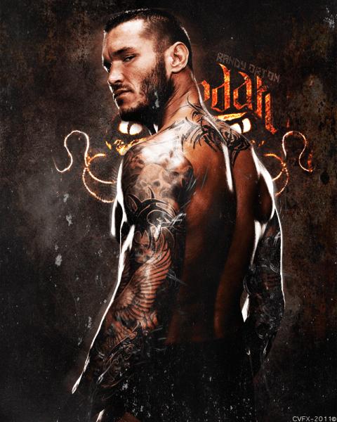 Randy Orton / Poster por cvfx – Deaviantart.com