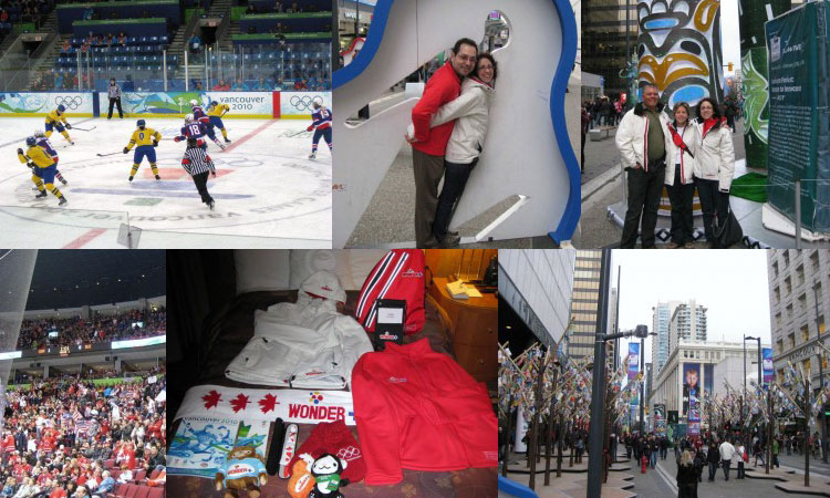 Carolyn's trip of a lifetime to the Winter Olympics