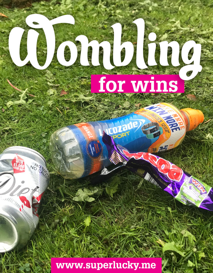 Wombling for Wins: how litter can win you big prizes!