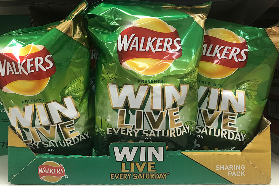 Walkers Win Live Every Saturday