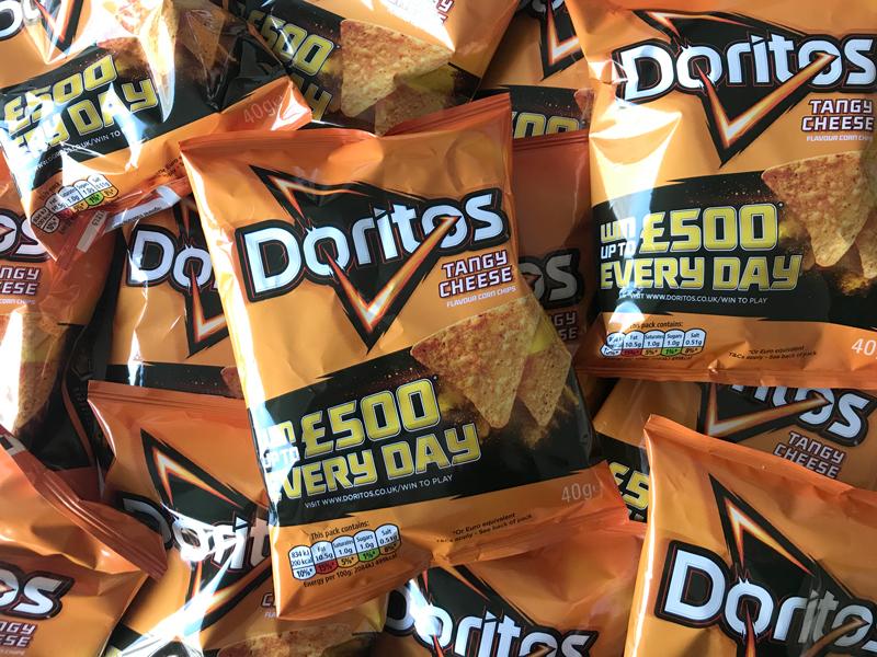 Win thousands of cash prizes when you buy Doritos!