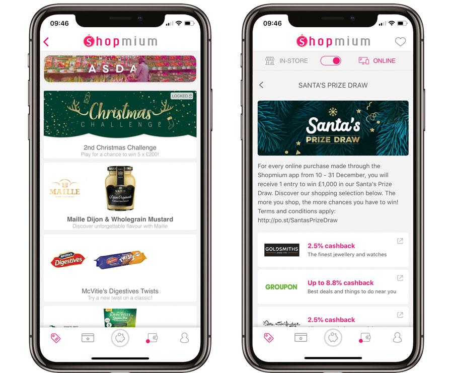 Using the Shopmium cashback app