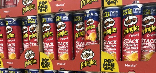 Pringles Stack N Share promotion