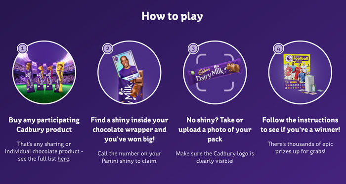 Cadbury Legends Promotion is back for 2020