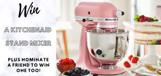 Win 40 Kitchen Aid Stand Mixers with your baking photos!