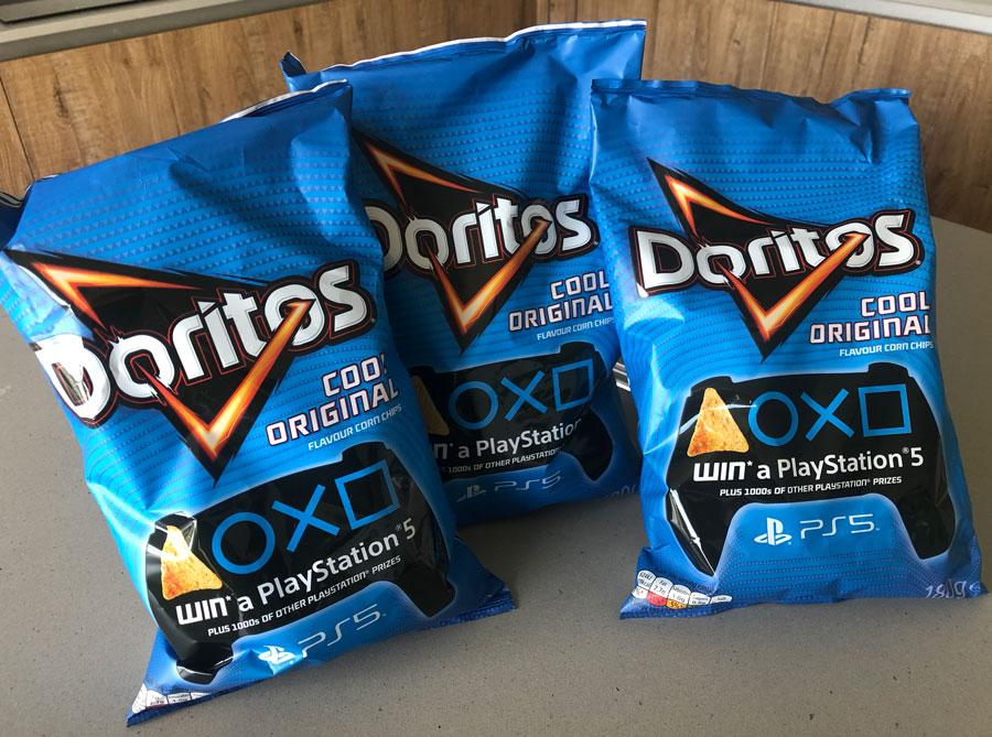 Doritos Win a PS5
