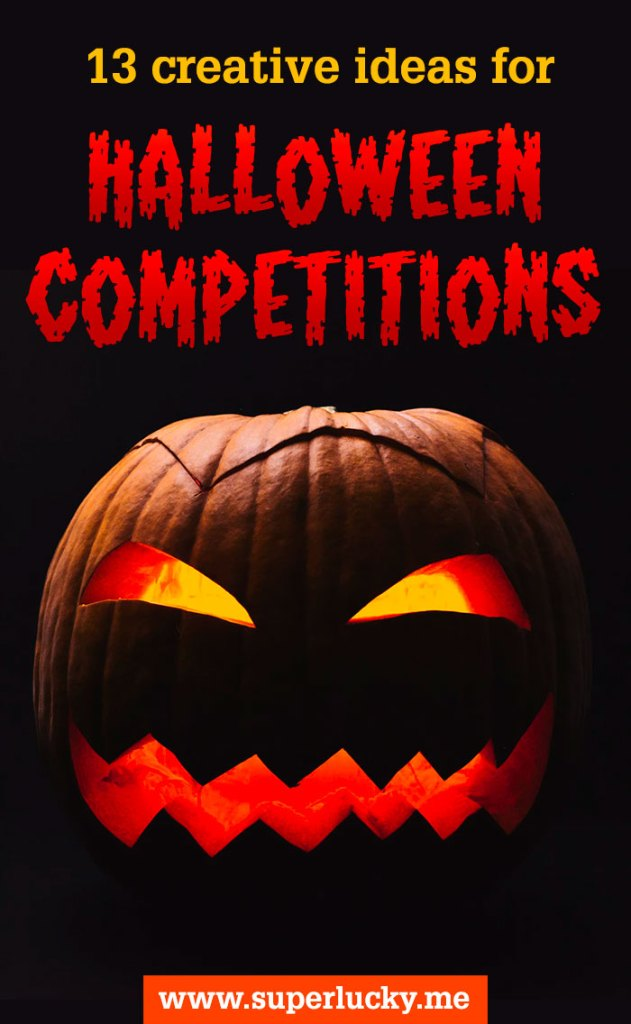 13 creative ideas for fun Halloween competitions