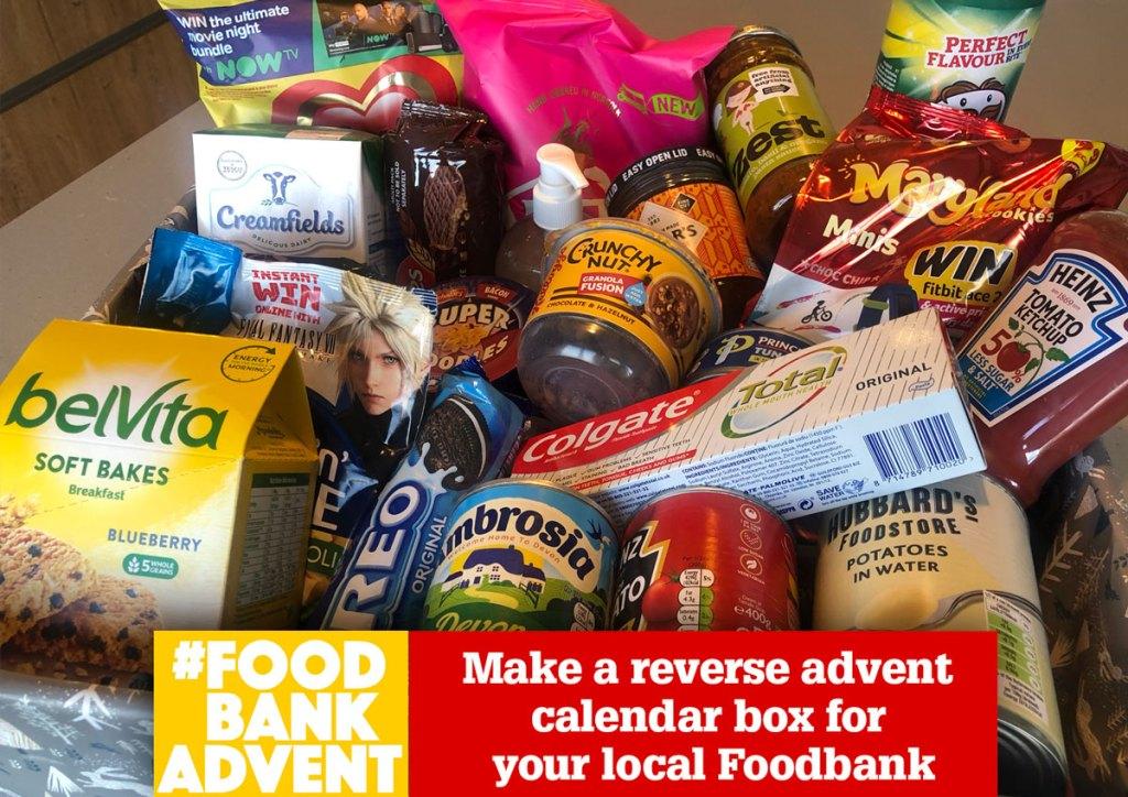 FoodbankAdvent campaign 2020