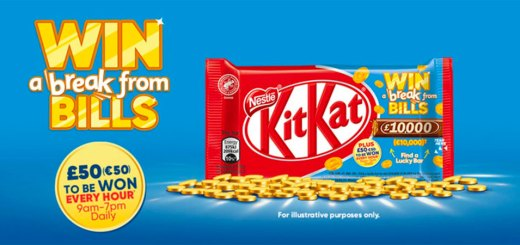 KitKat Win a Break from Bills