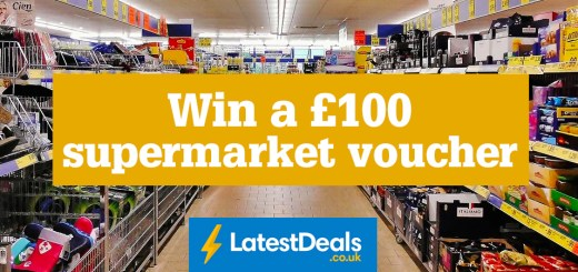 Win a £100 supermarket voucher