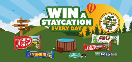 Win a staycation every day