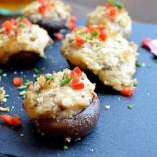 seriously stuffed mushrooms