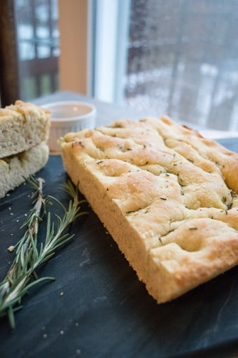rosemary and olive oil focaccia