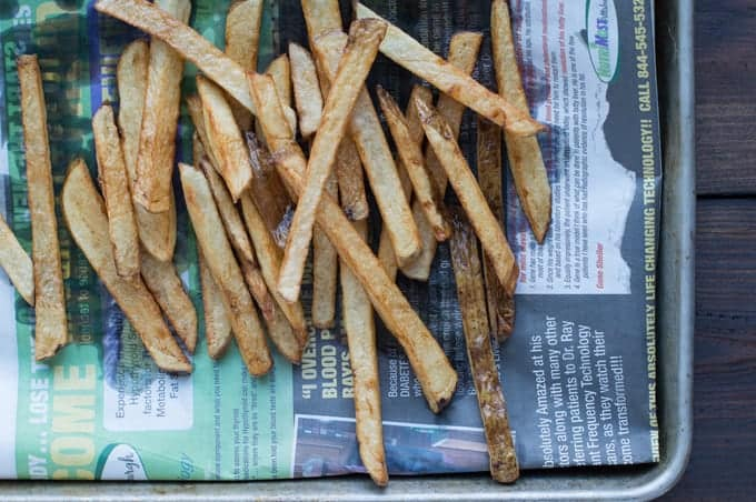 hand cut fries