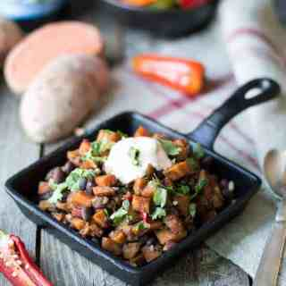 Southwestern Sweet Potato Hash