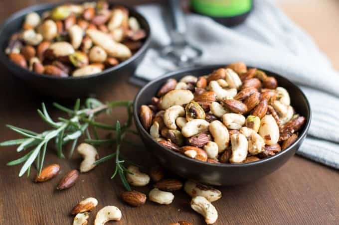 spiced party nuts   superman cooks