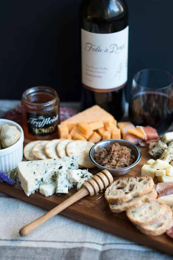 savory three cheese crackers + a cheese board | superman cooks