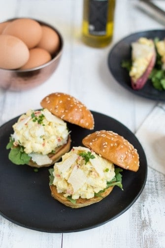 truffled egg salad | superman cooks