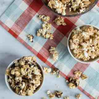 Sweet & Smoky Caramel Corn