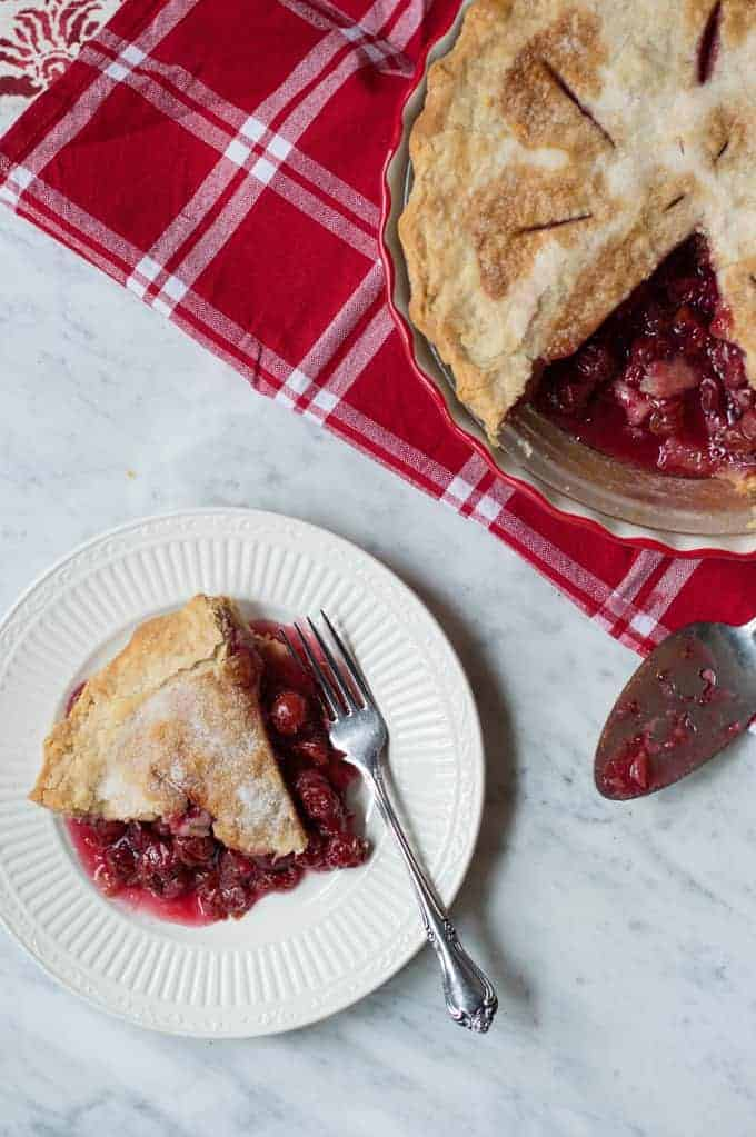 mom's brandy-soaked cherry pie | superman cooks