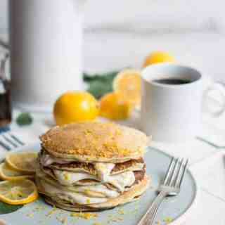 meyer lemon + poppy seed pancakes | superman cooks