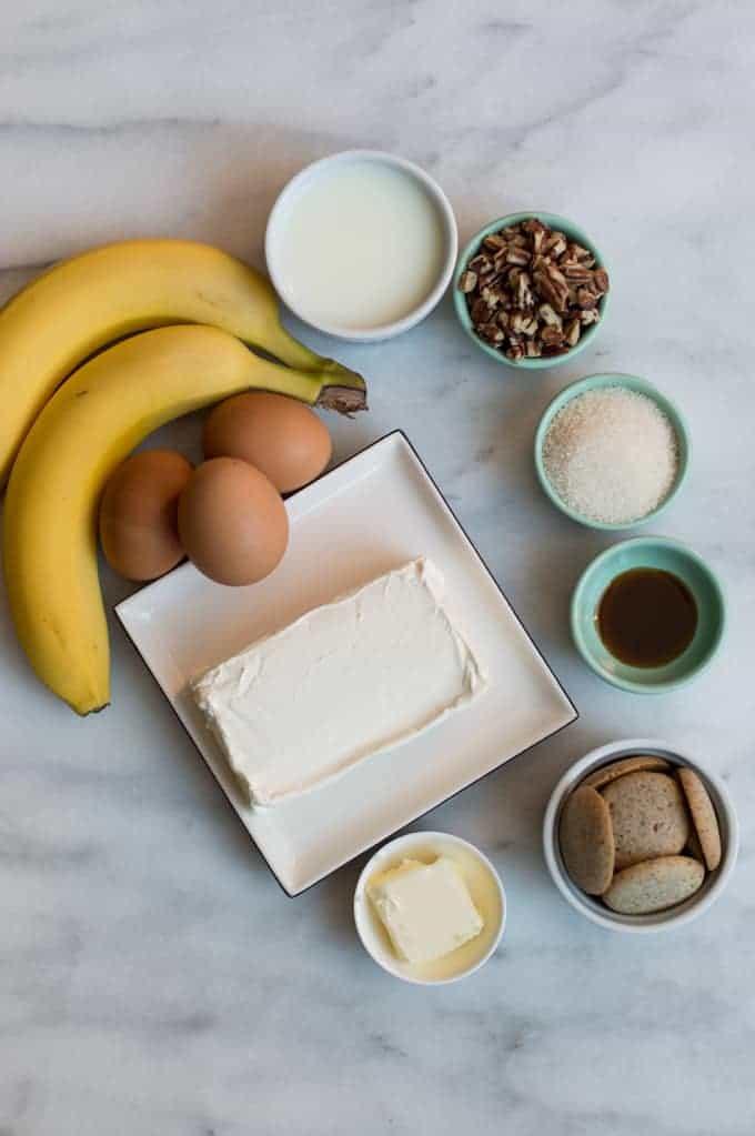 salted caramel & banana cheesecake   superman cooks
