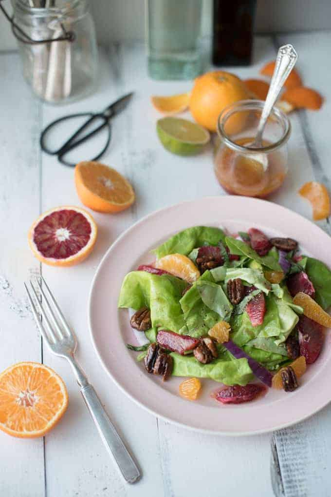 blood orange salad | superman cooks