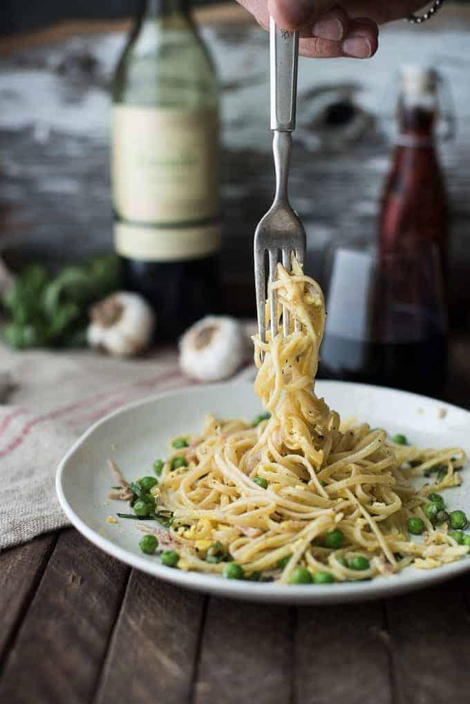classic pasta carbonara   superman cooks