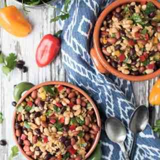 Southwestern Bean & Orzo Salad