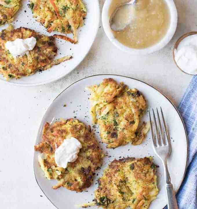 potato latkes with a kick | superman cooks