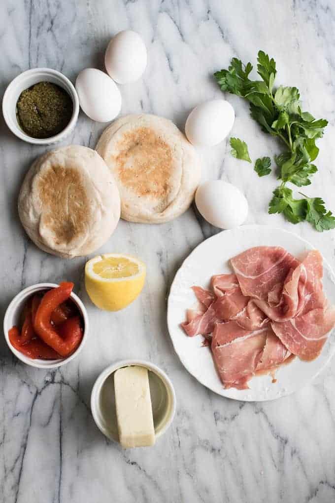 Italian Style Eggs Benedict | superman cooks