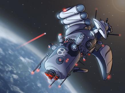 The Friendly Satellite.