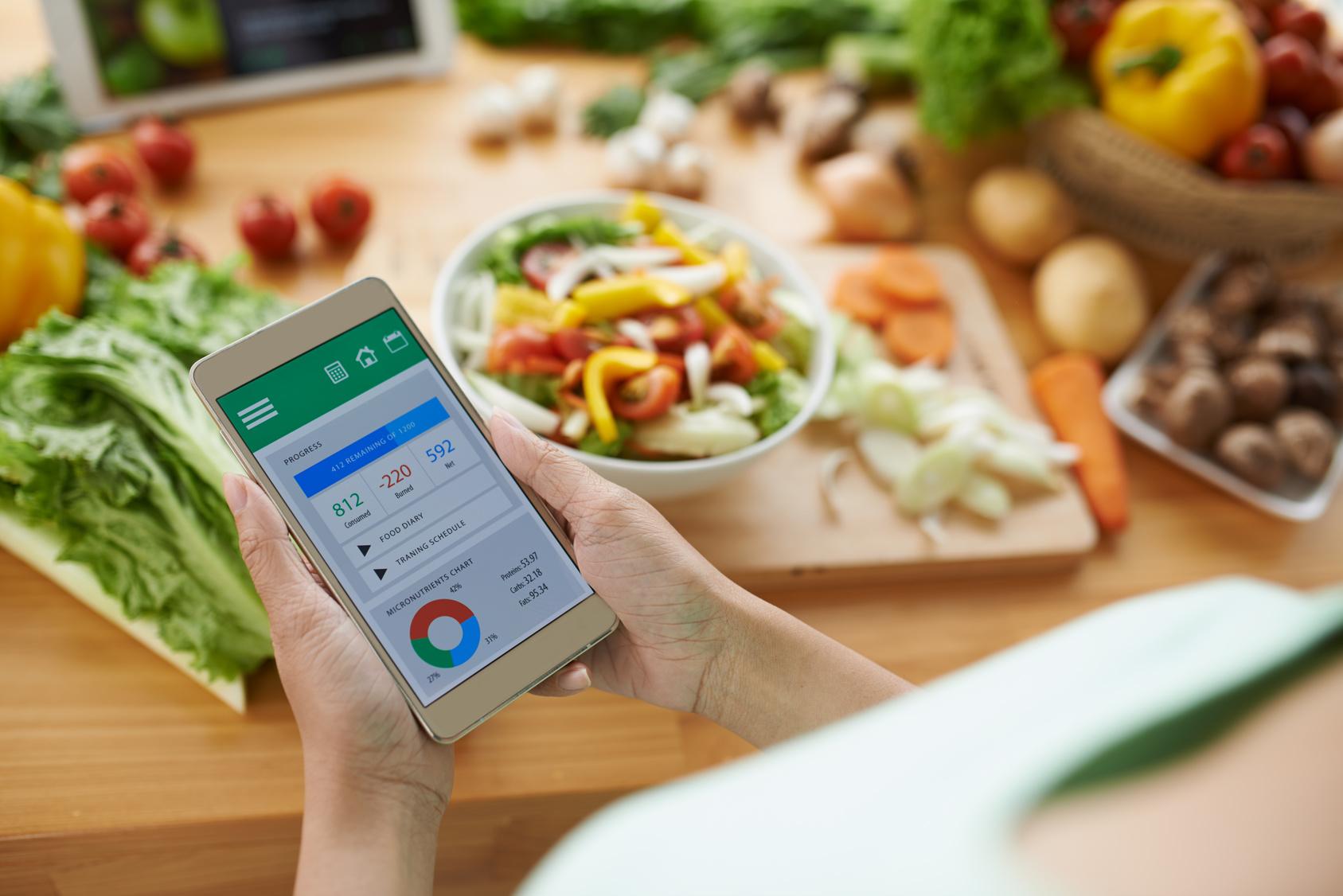 Ernährungs-App